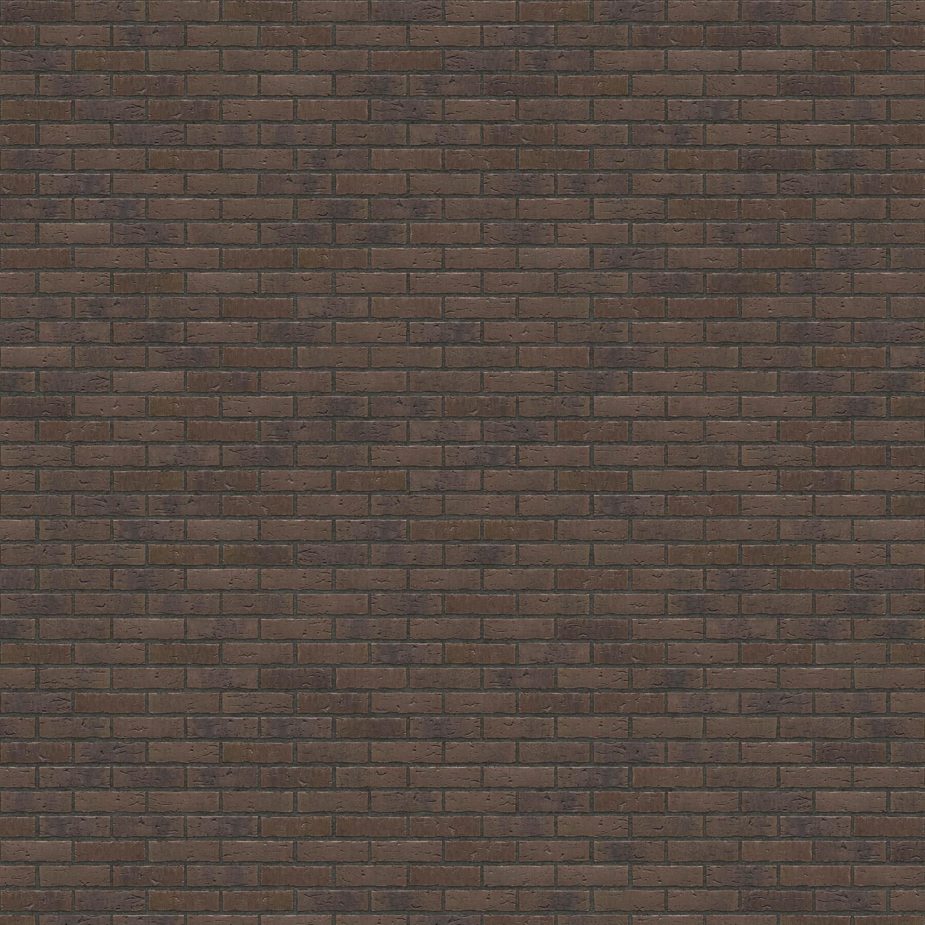 Dekorativna cigla listela FeldHaus Klinker r-697 nf Antracit fuga