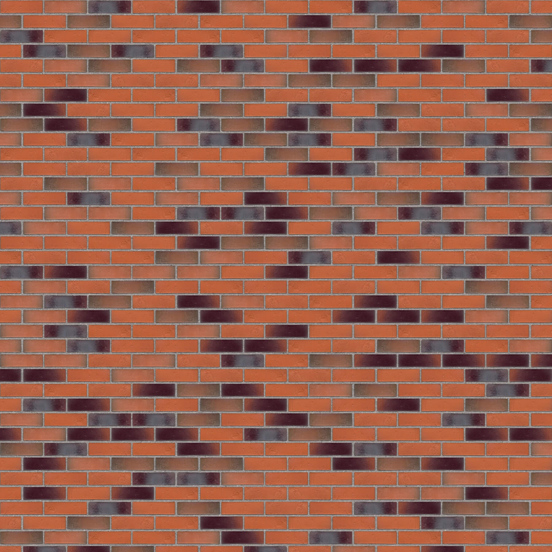Dekorativna cigla listela FeldHaus Klinker r-715 nf Siva Fuga