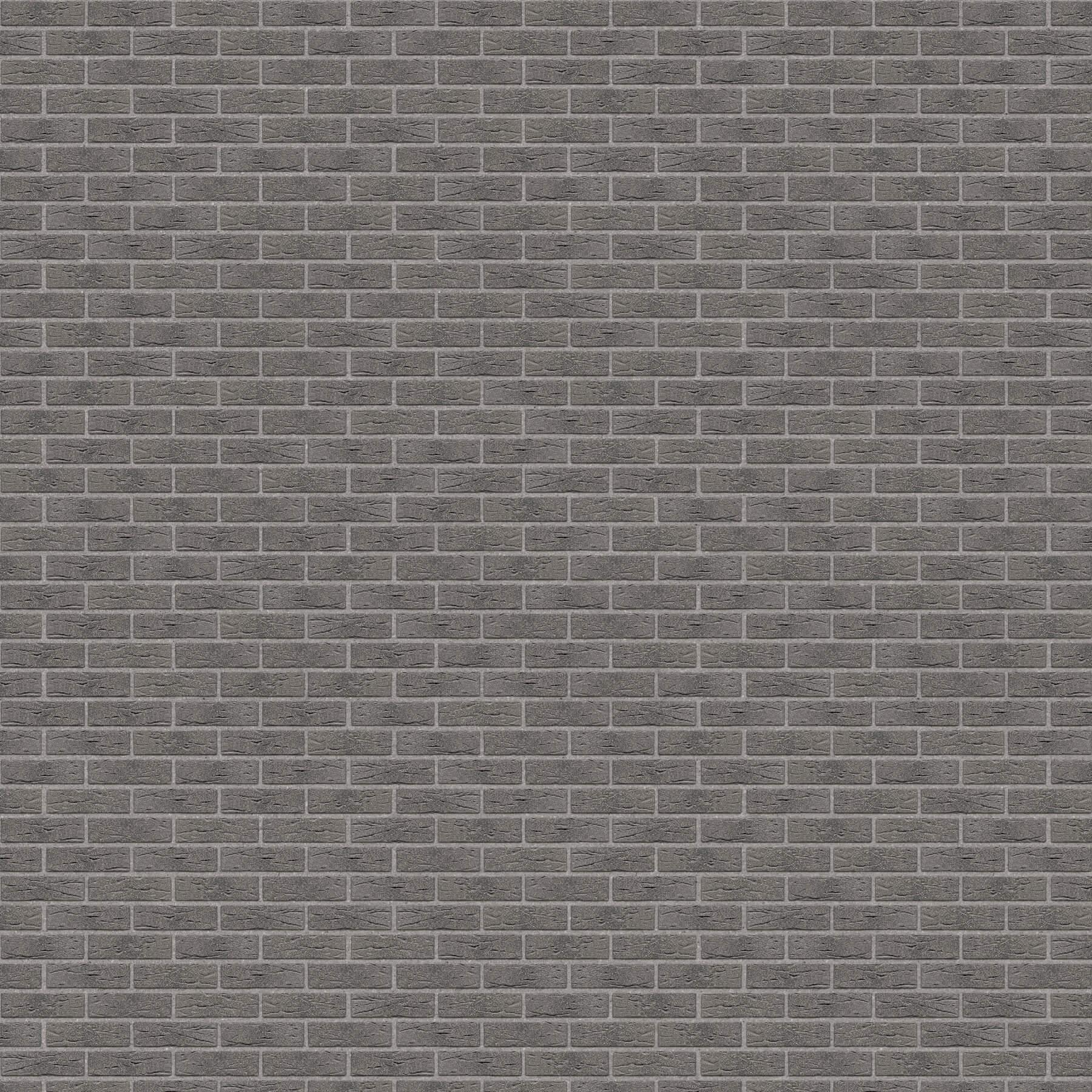 Dekorativna cigla listela FeldHaus Klinker r-735 nf Siva Fuga