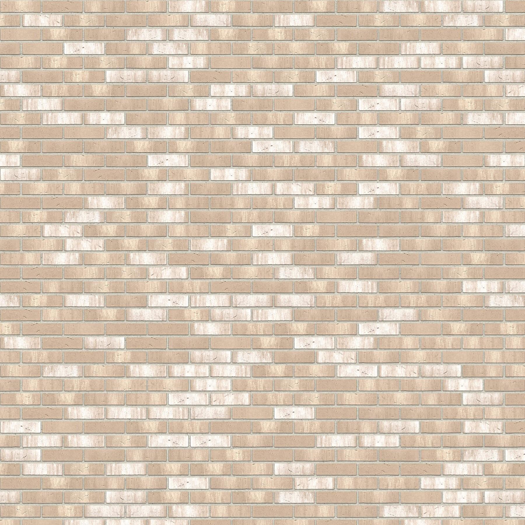 Dekorativna cigla listela FeldHaus Klinker r-772 nf Bela