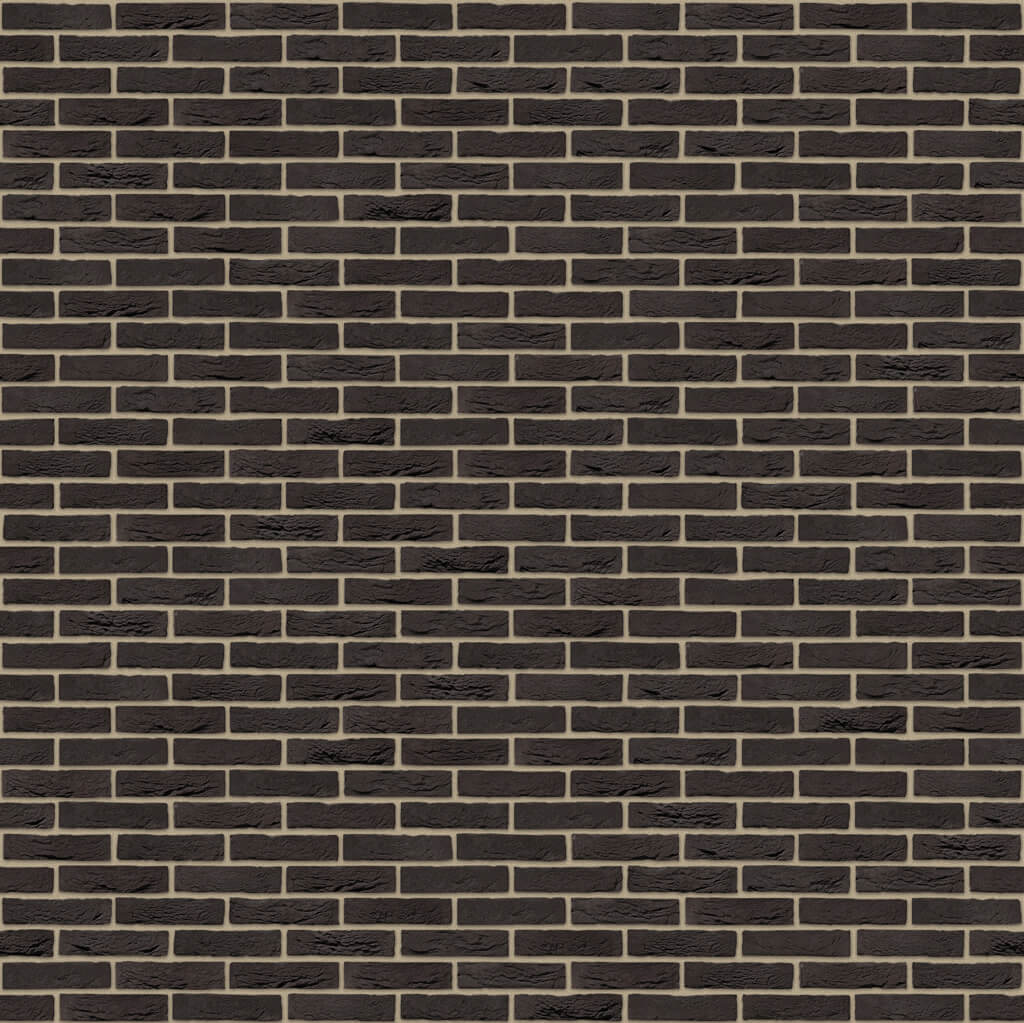 Dekorativna cigla listela Vandersanden 1-zwart-mangaan Bez Fuga