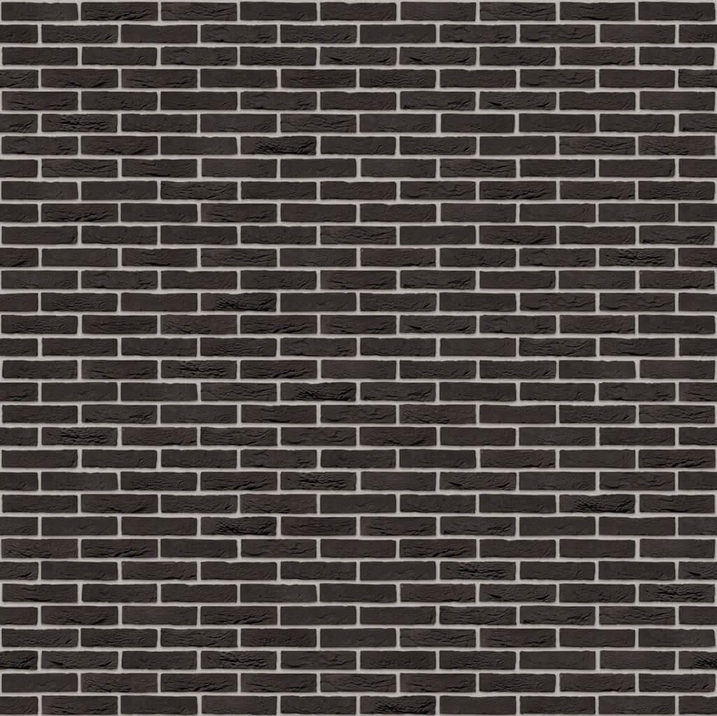 Dekorativna cigla listela Vandersanden 1-zwart-mangaan Siva Fuga