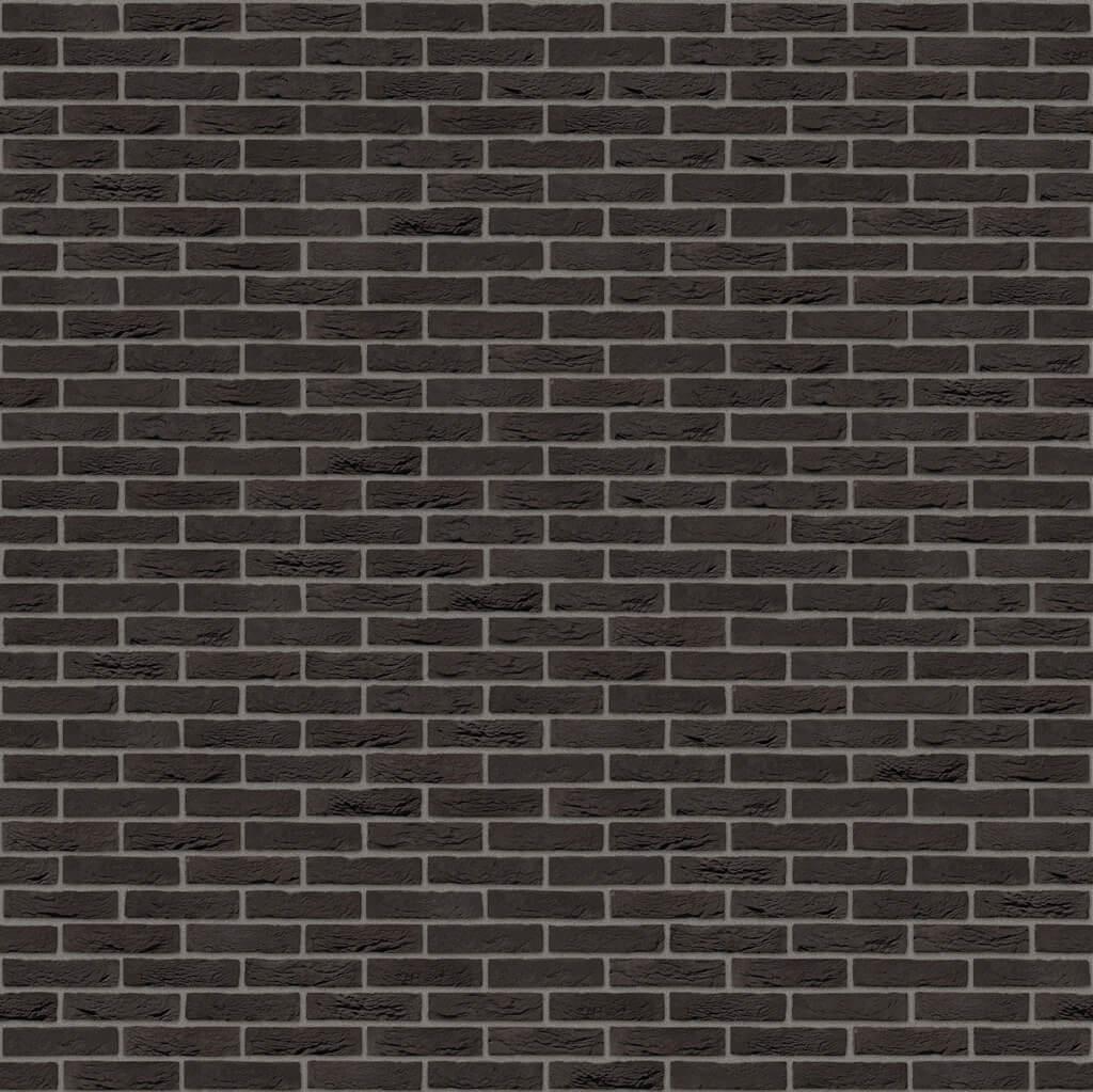 Dekorativna cigla listela Vandersanden 1-zwart-mangaan Tamno siva fuga
