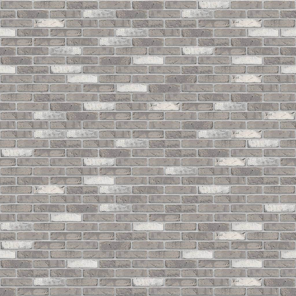 Dekorativna cigla listela Vandersanden 333-salina Svetlo Siva Fuga