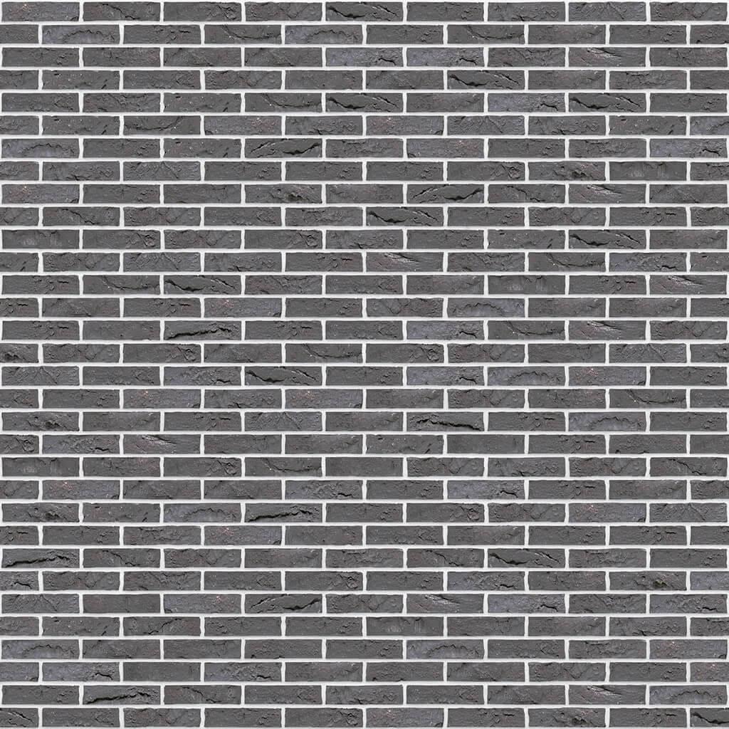 Dekorativna cigla listela Vandersanden 403-briljant-zwart-impression Bela Fuga