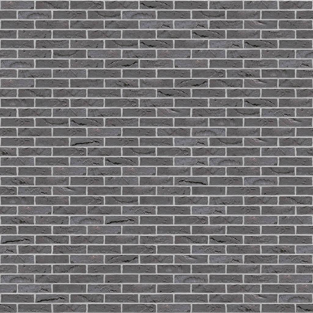 Dekorativna cigla listela Vandersanden 403-briljant-zwart-impression Svetlo Siva Fuga