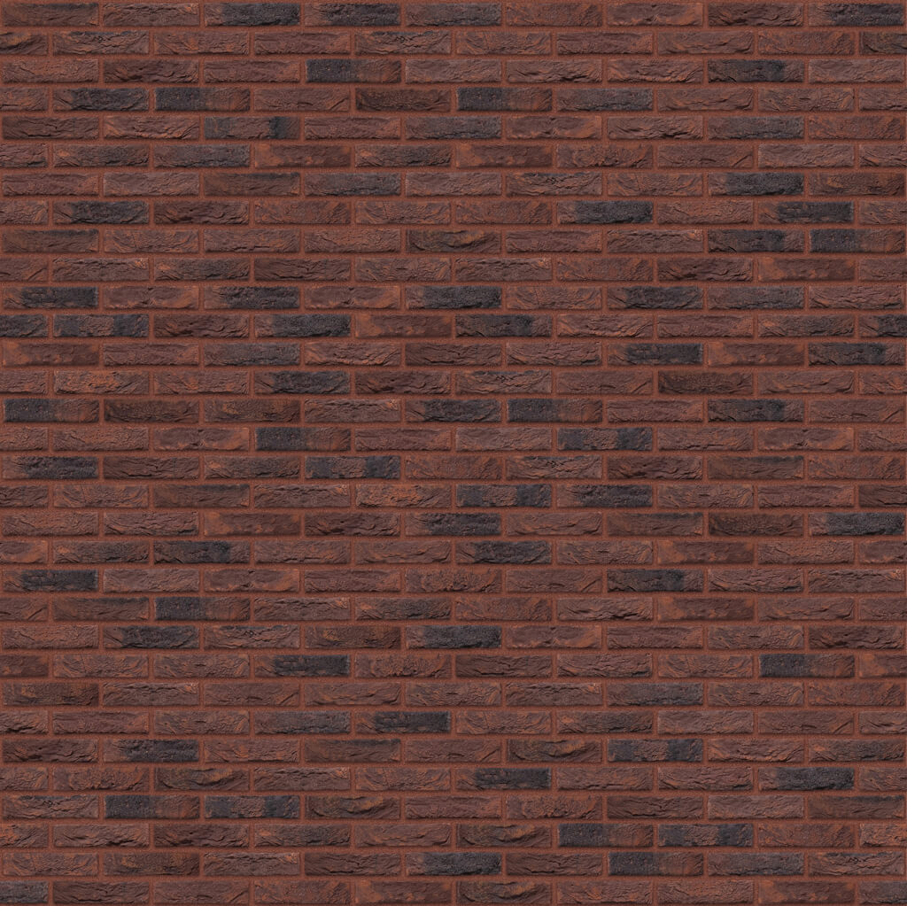 Dekorativna cigla listela Vandersanden 47-salvia-gesinteld Crvena Fuga