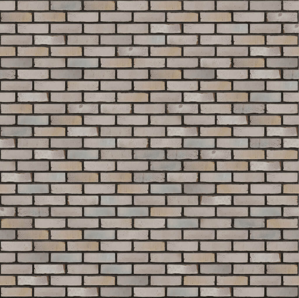 Dekorativna cigla listela Vandersanden 503-berit-ws Antracit Fuga