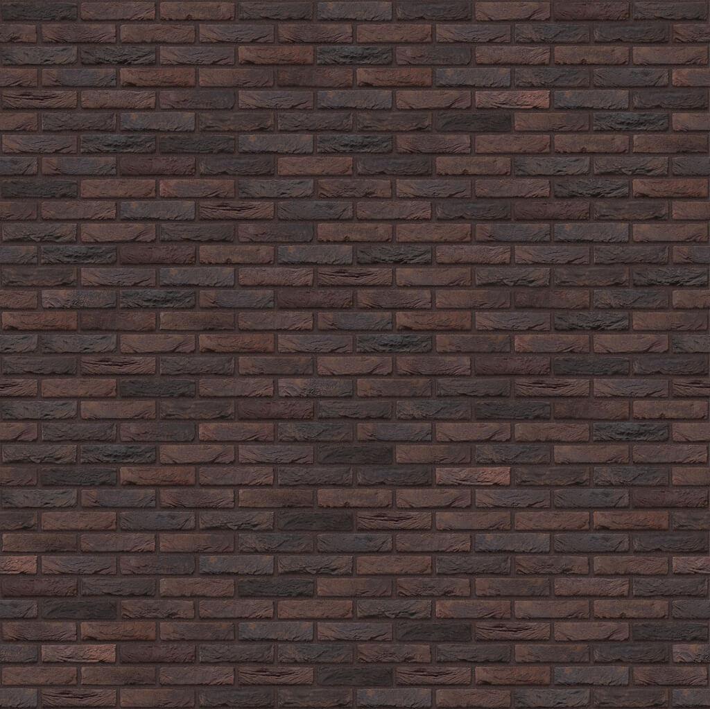Dekorativna cigla listela Vandersanden 76-carbon Crvena